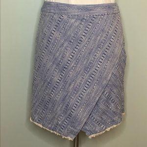 LOFT Skirt Size 14 Asymmetrical Hem